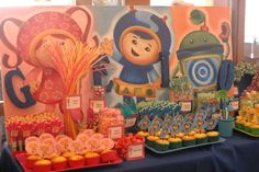"""Photo 1 of 41: Team Umizoomi / Birthday """"Gelo's Umizoomi 2nd Birthday Party"""" 