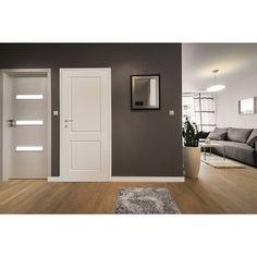 Lakierowane • Pełne • 80 cm prawe ✓ Classen Skrzydło drzwiowe Morano 2.1 białe 80P ➜ Drzwi wewnętrzne i ościeżnice kupuj w OBI! Market budowlany OBI