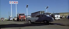 Classic truckstop from the movie Thunderbolt and Lightfoot Thunderbolt And Lightfoot, Best Country Music, Plymouth Fury, Old Gas Stations, The Old Days, Diesel Trucks, More Pictures, Vintage Cars, Automobile