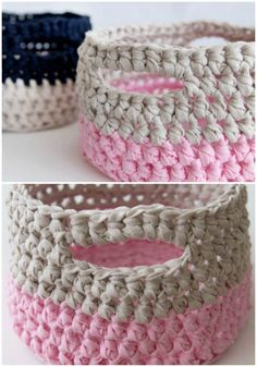 How To Crochet Basket - Free Patterns
