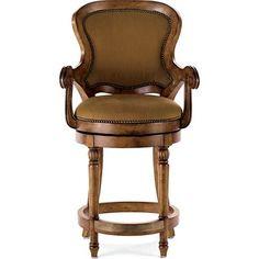 "Drexel Heritage Furniture - Gourmet Dining Epicurean Counter Stool - 586-784, seat height: 25"""