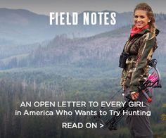 Eva Shockey Hunting Letter
