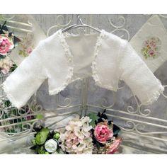 Romany Spanish Baby bolero cardigan girl christening bridesmaid wedding circle
