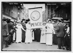 Women's Peace Parade in New York City, 1914