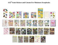 miniature printables on Pinterest