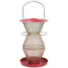 NoNo Red and Brass Standard 3 Tier Feeder  RB300334 -- Find out more about the great product at the image link.