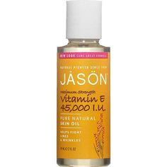 Jason 45,000Iu Vitamin E Beauty Oil (60ml) this stuff every women should use on there face/body its one of my favorite products and doesn't clog pores. my fav