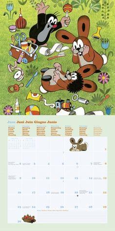 6 Der kleine Maulwurf Kalender 2014