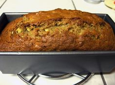 Banana Nut bread - make sure your Bananas are very ripe.