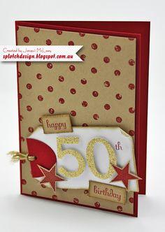 Splotch Design - Jacquii McLeay Independent Stampin' Up! Demonstrator: Masculine Cards
