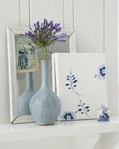 Blue and White China Plate Art | Sweet Paul Magazine