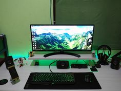Tagged with Gaming; Shared by My gaming rig Gaming Room Setup, Computer Setup, Pc Setup, Desk Setup, Bedding Inspiration, Desk Inspiration, Tv Wall Cabinets, Build A Pc, Editing Suite