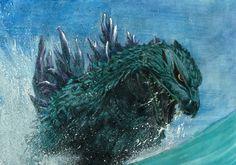 Godzilla by サクライ