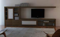 Neila Roble 5  Muebles para el salón en madera maciza. Elige medida, color, composcion, etc. Muebles para Madrid al mejor precio. #muebles #madrid