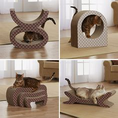 Modern Cat Scratchers from Enchanted Home Pet 30% DISCOUNT FOR HAUSPANTHER READERS!