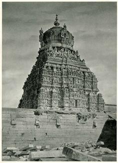 Temple+in+Madurai,+Tamil+Nadu+-+India+1928