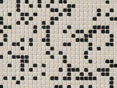 Mosaiken-Wandverkleidung aus Feinsteinzeug DECHIRER GLASS MIX BIANCO-NERO Kollektion DECHIRER GLASS by MUTINA   Design Patricia Urquiola