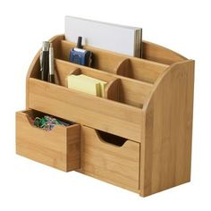 Shop for Lipper Bamboo Space-Saving Desk Organizer and more for everyday discount prices at Overstock.com - Your Online Desk Accessories Store!