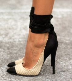 Isabel Marant stiletto sandals~ my mom pinned this! What?!?!? :-)