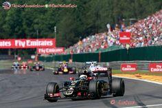 Los Lotus regresan a Enstone #F1 #Formula1 #BelgianGP