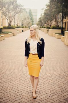 Bay Area Blonde: Business classy
