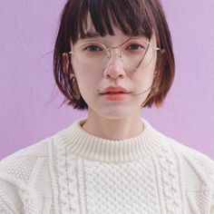 Hair Inspiration, Hair Cuts, Glasses, My Style, Face, Hairstyles, Beauty, Instagram, Fashion