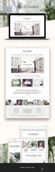 Parker - Premium WordPress Theme from Station Seven