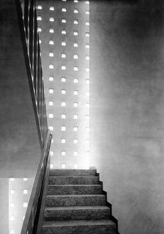 ignazio gardella con l martini - laboratorio provinciale de igiene e profilassi, alessandria, 1933-38
