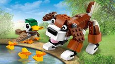 31044 Tiere im Park - Produkte - Creator LEGO.com