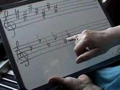 Clases de piano Lección 11 - ORDEN DE LOS SOSTENIDOS Y BEMOLES
