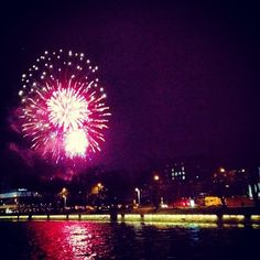 New Year fireworks Turku / Finland