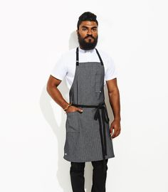 *$45 Wholesale* WORK Apron | Chef wear by Tilit: chef coats, chef pants, aprons, work-shirts, custom workwear, server uniforms, made in USA chef gear.