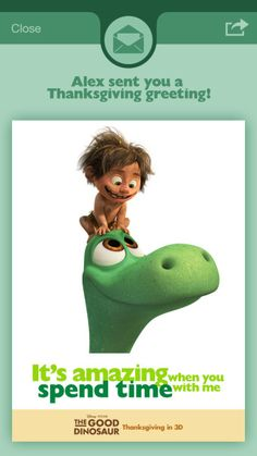 After your meal this year, reward the kids with a trip to the movies to see The Good Dinosaur! Thanksgiving Greetings, Thanksgiving Meal, The Good Dinosaur Characters, Reward Ideas, Disney Pixar, Children, Kids, Real Life, Activities
