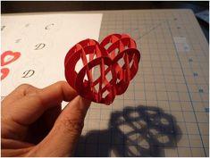 valentine's day pop up card tutorial