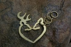 <3 I want this key chain but with his name on the buck and my name with on the doe