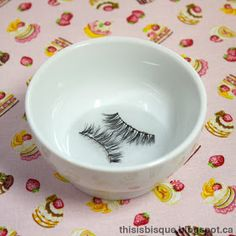 This is Bisque: Mini Tutorial: How To Clean and Reuse False Eyelashes