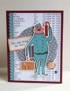 Guest Designer Lydia Jackson - Ring My Bell
