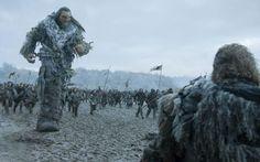 Wun Wun the giant in Game of Thrones season 6, episode 9, Battle of the Bastards