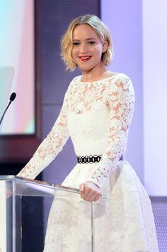 Jennifer Lawrence at Elle's 21st Annual Women in Hollywood Awards on 10/20/14