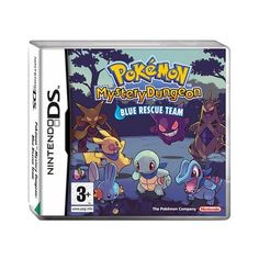 Pokemon Mystery Dungeon Blue Rescue Team - Nintendo DS ❤ liked on Polyvore featuring games and pokemon