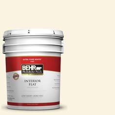BEHR Premium Plus 5-gal. #W-D-210 Camembert Zero VOC Flat Interior Paint