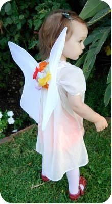DIY Fairy Costume : DIY Making Fairy Wings For Toddler & Baby Fairy Costumes