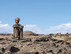 Namibia's far north-western reaches have always held mysteries and marvels. A new mystery has recently emerged, leaving all spectators intrigued - and curious. Travel News, Travel Guide, Stone Art, Lonely, Statue Of Liberty, Mount Rushmore, Westerns, Mystery, North Western