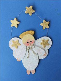 DecoArt Angel Ornament