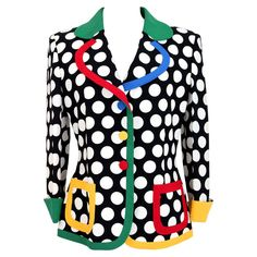 Moschino, Diy Clothes Accessories, Color Profile, Blazer, Refashion, Vintage Ladies, Cool Style, Jackets For Women, Sleeves