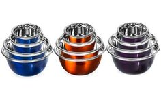 Groupon - Polished Stainless Steel Mixing Bowl Set (4-Piece). Groupon deal price: $15.99