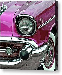 Cherry '57 Chevy Photograph by Bill Owen - Cherry '57 Chevy Fine Art Prints and Posters for Sale ~ a fav of mine #57chevy #chevy #cherry :)