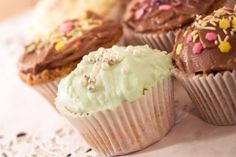 Grunnoppskrift cupcakes