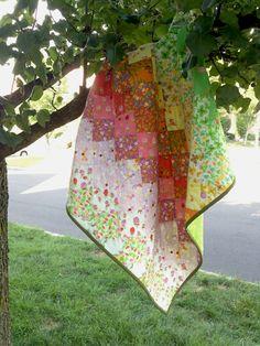 Briar Rose Quilt. @Alesia B. Windham Fabrics Fabric- Briar Rose by Heather Ross