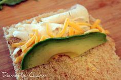 Domestic Charm: Kids Sushi Sandwich